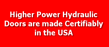 Higher Power Hangar Doors are Built in the USA